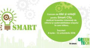 BeSMART, concurs de idei și soluții pentru Smart City adresat liceenilor