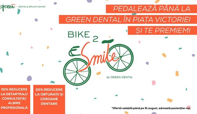 Reduceri de până la 50% la servicii de stomatologie pentru bicicliști