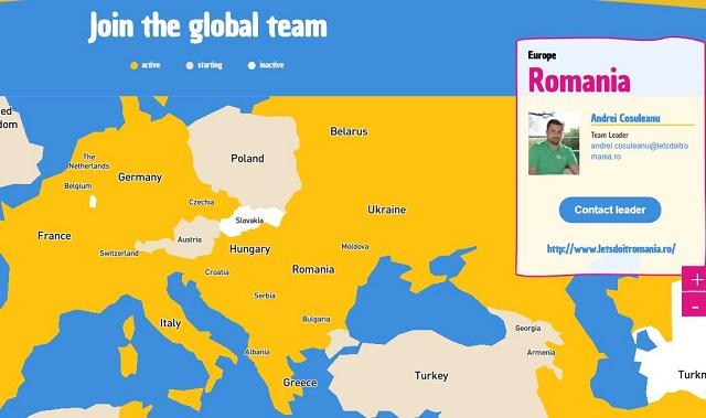 World Cleanup Day. 150 de țări fac curat în aceeași zi
