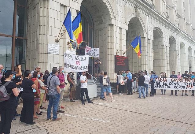 Întâlnire cu Ministerul Mediului după protestul împotriva aerului poluat