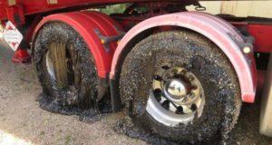 Australia. 50 de mașini blocate în asfalt din cauza caniculei