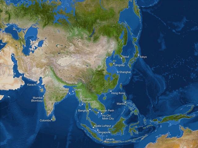 FOTO. Cum ar arăta Pământul dacă toată gheața s-ar topi