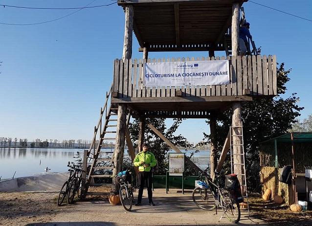 Ciocănești Dunăre, noua destinație de cicloturism din Călărași dezvoltată de WWF