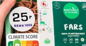 Danemarca ia în calcul să introducă etichetele pe care să scrie impactul alimentelor asupra mediului