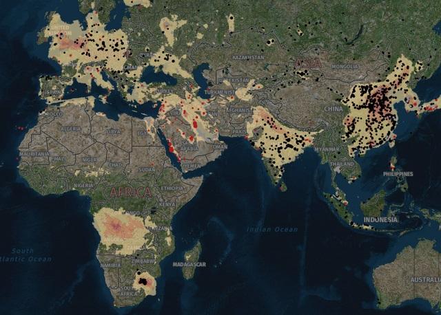 Greenpeace: Zona care emite cel mai mult dioxid de azot de pe pământ se află în Africa de Sud