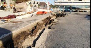 Un cutremur a mutat orașul Zakynthos cinci centimetri mai la sud-est