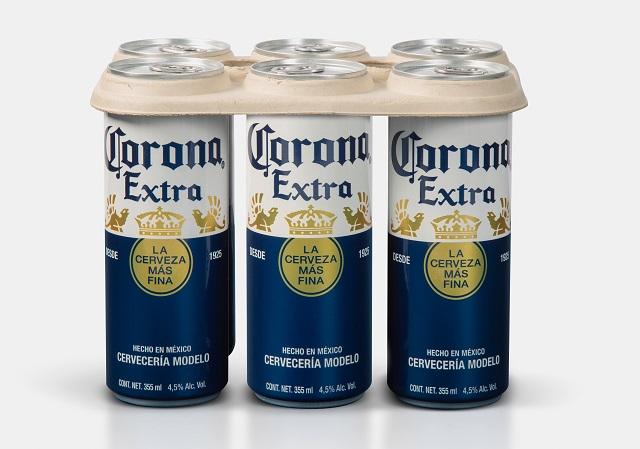 Corona va deveni primul brand de bere care va înlocui inelele de plastic cu cele de carton