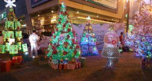 Filipine. Concurs de brazi din materiale reciclate