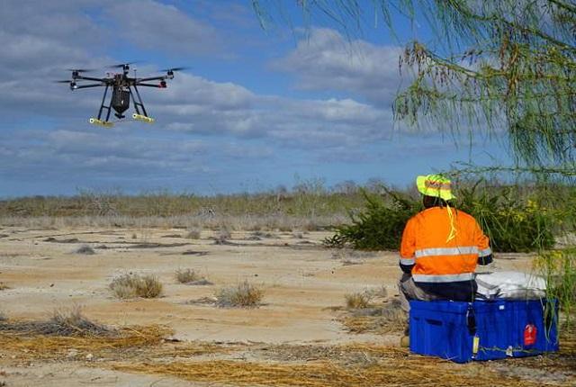 drone Galapagos