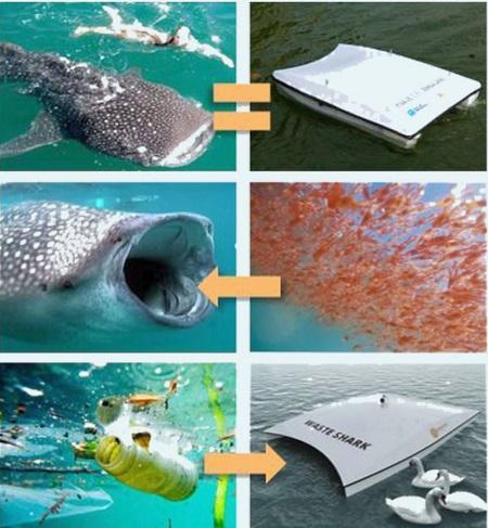 Waste Sharks, dronele care colectează plasticul de la suprafața apelor