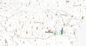 Human Terrain, harta interactivă care te ajută să ai o perspectivă asupra populației lumii