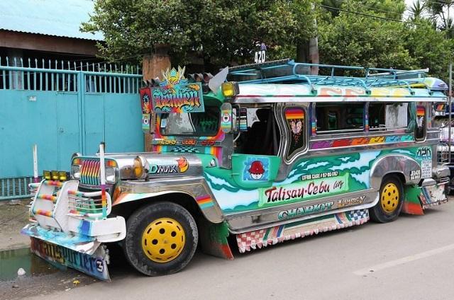 Jeepney, Manila, Filipine
