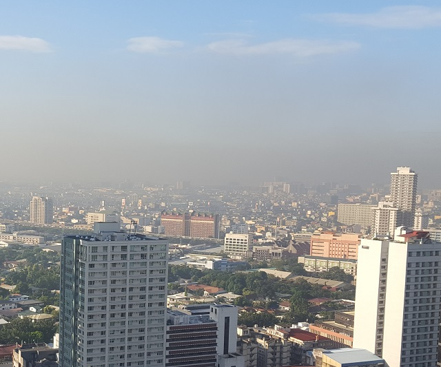Smog, Manila, Filipine