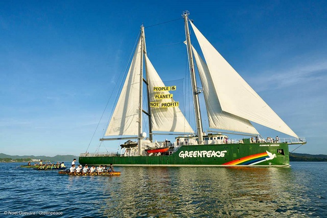 Rainbow Warrior, Greenpeace