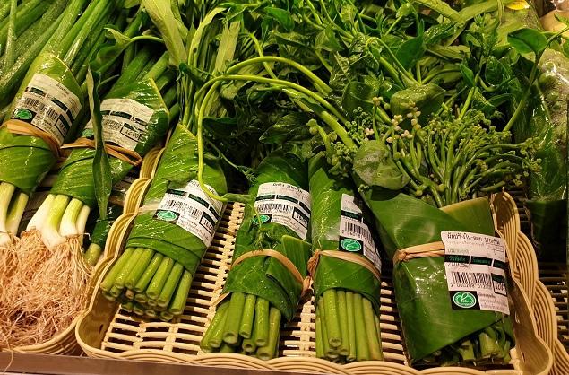 legume frunze banane