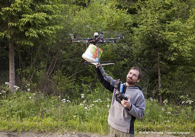 Leo cu drona